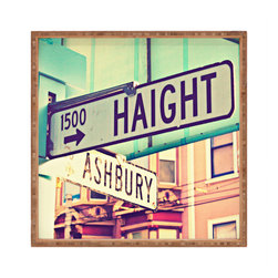 DENY Designs - Shannon Clark Haight Ashbury Square Tray - With DENY'S multifunctional square tray collection, you can use it for decoration in just about any room of the house or go the traditional route to serve cocktails. Either way, you'll be the ever so stylish hostess with the mostess!
