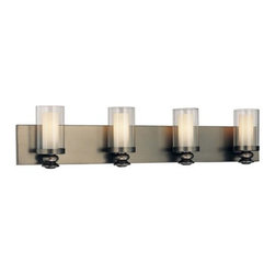 Minka Lavery - Minka Lavery 6364 4 Light ADA Compliant Bathroom Vanity Light from the Harvard C - Four Light ADA Compliant Bathroom Vanity Light from the Harvard Ct. CollectionFeatures: