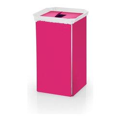 Modo Bath - Bandoni 53443 Laundry Basket , Pink - Bandoni by WS Bath Collections Laundry Basket