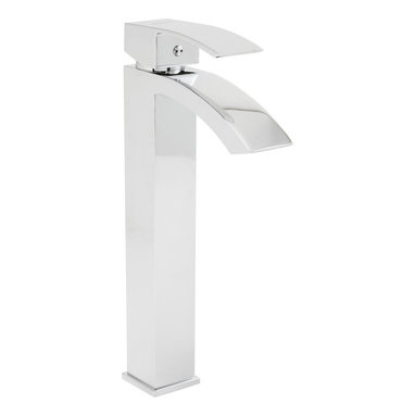 Speakman - Speakman Holt Vessel Faucet in Polished Chrome - Sleek. Square. Simplistic. The Speakman Holt modern vessel sink faucet is a modernized update to a timeless classic. Featuring sharp, dominant edges, the Holt square vessel sink faucet is designed to be a prominent, eye-catching figure amongst your other bathroom fixtures.