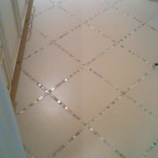 Sparkle tile instead of grout