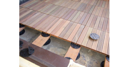Outdoor Products Teak deck tiles - Ipe decking tiles
