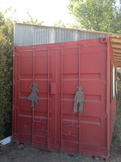 Reinvent It A Shipping Container Goes A Little Bit Country