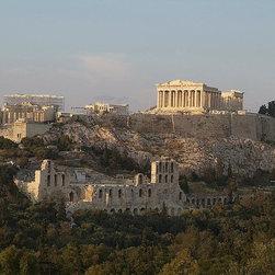 Magic Murals - Acropolis in Athens Wallpaper Wall Mural - Self-Adhesive - Multiple Sizes - Magi - Acropolis in Athens Wall Mural