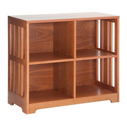 Belham Living - Belham Living Everett Mission 4-Cube Bookcase - Light Oak Multicolor - CS-50274 - Shop for Bookcases from Hayneedle.com! The Belham Living Everett Mission 4-Cube Bookcase - Light Oak is a great way to incorporate storage and style into any living space. This bookcase is made of durable engineered wood with wood veneers and a versatile light oak finish. Its four cubbies are perfect for books and other display items. It s easy to assemble and its mission-style design is ideal for a variety of decor settings.About Belham LivingBelham Living builds catalog-quality furniture in traditional styles at a price that actually makes sense. By listening to our customers and working closely with great manufacturers we build beautiful pieces worthy of your home. Rich wood finishes attention to detail and stylish lines that tie everything together are some of the hallmarks of a Belham Living piece. From the living room or bedroom through the kitchen and out onto the deck there's something from an incredible Belham collection perfect for your style.