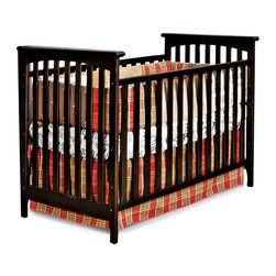 Child Craft - Child Craft Monterey 3-in-1 Stationary Crib - Jamocha Multicolor - F10391.07 - Shop for Cribs from Hayneedle.com! Timeless design elements are fused with modern metropolitan style in the Child Craft Monterey 3-in-1 Stationary Crib - Jamocha. These simple lines are sure to complement any nursery and parents will love how this crib easily converts to a day bed to a toddler bed with all included parts (toddler bed conversion stretcher rail is included - toddler bed guard rail sold separately). Constructed from selected hardwoods and finished in baby-safe non-toxic Jamcoha this crib is complete with a strong steel mattress support. The mattress support system can be adjusted to two heights. Crib mattress is sold separately. About FoundationsFoundations is a brand focused on the absolute safety and well being of all children and their products show it. Though used throughout the world by commercial customers Foundations products extend to use in the home as well.