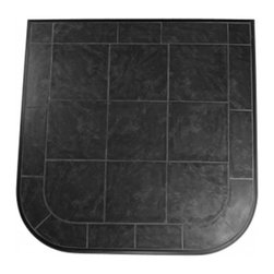 HearthSafe - HearthSafe Aluminum Frame Standard Hearth Pad - HP2-18303 - Shop for Fireplace Accessories from Hayneedle.com! Beautiful and sophisticated the HearthSafe Aluminum Frame Standard Hearth Pad is the perfect addition to your fireplace. Crafted from tile with a gorgeous extruded aluminum decorative edge this hearth pad is completely fireproof making it both a flame arrestor and thermal barrier. The extruded aluminum edging features an anti-scratch powder coated finish that won't corrode tarnish or blemish. Stain-resistant grout makes this hearth pad maintenance free for your convenience. Available in your choice of size and color this hearth pad also has a limited lifetime burn-through warranty. Additional Features Edging won't corrode tarnish or blemish Meets or exceeds UL safety standards Stain resistant grout BaseRigid cement board Maintenance free construction Pad is both a flame arrestor and thermal barrierAbout HearthDistribution.comWith a combined experience of 65 years HearthDistribution.com (HDC) work's hard to provide their customers with peace of mind and hands-on operation. All of their hearth pads and extensions are tested and listed to meet the current safety standards to provide you with the safest installation of your stove or fireplace insert. As an online retailer with no brick and mortar stores HDC is able to save money and passes those savings onto their customers.