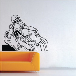 ColorfulHall Co., LTD - Rugby American Football 3 Rugger Rugby Ball Football Sports Wall Decals For Boys - Rugby American football 3 Rugger Rugby ball Football sports wall decals for boys