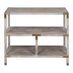 Vanguard Furniture - Vanguard Furniture Faris Tier Table 8513L-HM - Vanguard Furniture Faris Tier Table 8513L-HM