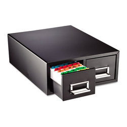 "MMF POS - Drawer Card Cabinet Holds 3,000 3 X 5 Cards, 12 5/16"" X 16"" X 5 3/16"" - All-steel cabinet with follower blocks. Drawers have combination label holders and pulls. Units are stackable for increased storage. Non-mar feet won't slip. Card Holder Type: Card File With Pull Drawer; Card Capacity: 3,000; For Card Size: 3 x 5."