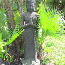 Eclectic Garden Statues And Yard Art by Idlewild Furnishing