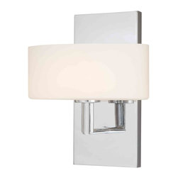 Vaxcel - Allerton Chrome Wall Sconce - Vaxcel W0001 Allerton Chrome Wall Sconce