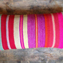 Pink Stripe Frazada Cushion - While I typically don't spend more than $100 on an accent pillow, this striped kilim piece has a killer color palette that reminds me of fruity summer popsicles. It's one pillow I would invest in just for the bright dose of color it would bring.