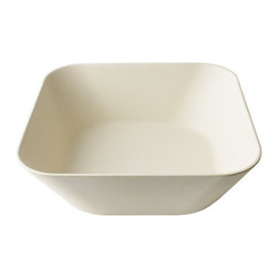 Bamboo Studio - Bamboo Studio 148 oz. Malibu Bowl - Our reusable Bambooware product  is a revolutionary dishware that's eco,friendly, biodegradable, beautiful, and durable. The process begins by taking the fiber of bamboo plants five years or olderand grinding it into a fine powder.