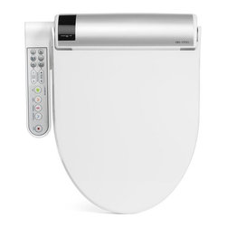 Bio Bidet - Bio Bidet BB 1700 Bliss Series Bidet Toilet Seat - This electronic bidet seat from Bio Bidet has all the same great features as the popular BB 2000 model except the 1700 has an attached control panel instead of a remote control.  The hybrid water heater provides continuous warm water that can be used with the various wash features and is available in elongated size and white color.