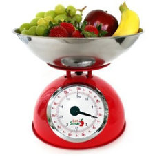 Traditional Timers Thermometers And Scales EatSmart Precision Retro Mechanical Kitchen Scale