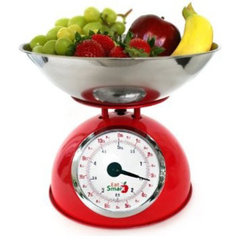 traditional kitchen tools EatSmart Precision Retro Mechanical Kitchen Scale