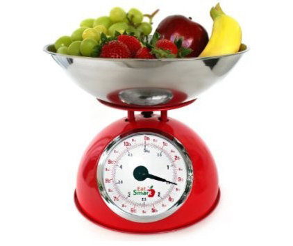 Traditional Kitchen Scales EatSmart Precision Retro Mechanical Kitchen Scale