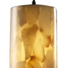 Pendant Lighting Alabaster Rocks! Mini Pendant by Justice Design