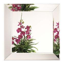 Alno Inc. - Alno Creations Square / Diamond Mirror 2640-101 - Alno Creations Square / Diamond Mirror 2640-101