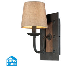 Rustic Wall Sconces by Valley Light Gallery