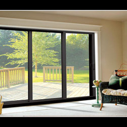 Aluminum Sliding Glass Doors - Photo Credit: XO Windows - Aluminum Sliding Glass Doors
