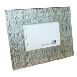 Kellrina B - Kellrina B Silver Birch Frame - Forest Frame. Display your favorite memories in this nature-inspired piece from Kellrina B. The Silver Birch Frame is sleek and neutral, and is a perfect match for a room with neutral colors. Like all frames from Kellrina B the Silver Birch Frame is made in the USA by artisans who follow a 14-step process that incorporates decorative papers from around the world in cut and polished Lucite. A set of these frames makes a great gift for birthdays, weddings or baby showers.Available in two sizesLuciteMade in the USAArtisan made