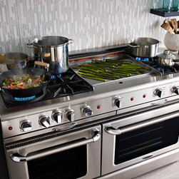 """CAPITAL RANGES - Capital all gas 60"""" range with 23000 BTU burners, self clean, convection, rotisserie."""