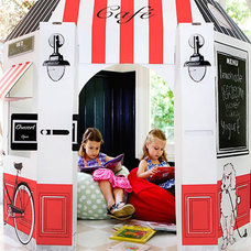 Modern Outdoor Playhouses by Little Play Spaces