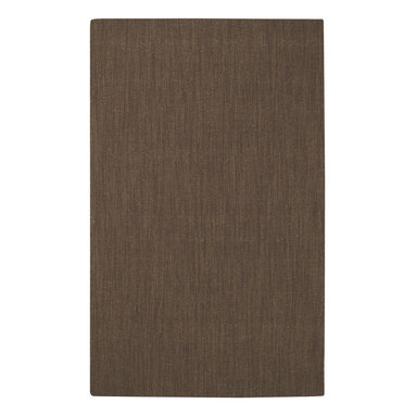 Montauk rug in Chocolate - Spa toned with a carefree sisal look, our Montauk rug is a favorite among the Capel crowd.