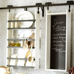 Markson Rolling Modular Storage - Reminiscent of a rolling door, this space-saving beauty has tons of potential for any room in the house. Use it in the kitchen, the pantry, a playroom or even the dining room.