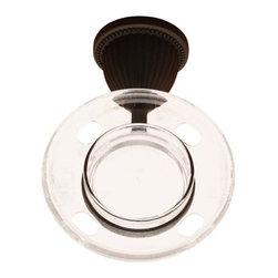 RK International - Oil Rubbed Bronze RKI Beaded Bell Base Tumbler Holder (RKIBERB7) - Beaded Bell Base Tumbler Holder