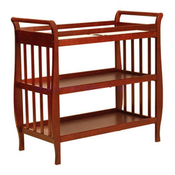 DaVinci - DaVinci Emily II Changing Table - The newly redesigned Emily Changing Table complements the equally elegant Emily 4-in-1 Convertible Crib,exuding the same lasting charm and convenient functionality.