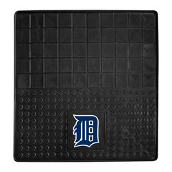 Fanmats - Fanmats Detroit Tigers Heavy Duty Vinyl Cargo Mat - Show off your team spirit with this Detroit Tigers cargo mat from Fanmats. This mat is made from a heavy-duty vinyl that will protect your vehicle's flooring from stains or tears. The nonskid backing of the mat allows it to stay in place.