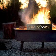 Modern Fire Pits by Terrain
