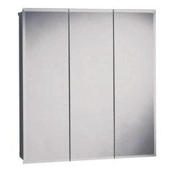 "ZENITH - Zenith 30"" Beveled Triview Medicine Cabinet - 30"" beveled triview medicine cabinet"