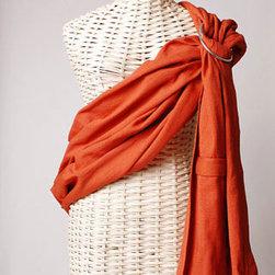 Maya Wrap - Lightly Padded Sling in Burnt Orange - Lightly Padded Sling in Burnt Orange