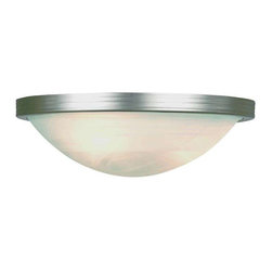 Trans Globe Lighting - Trans Globe Lighting 6213 BN Wall Sconce In Brushed Nickel - Part Number: 6213 BN