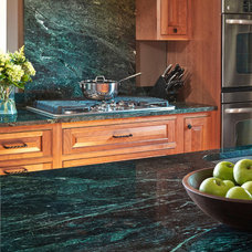 Traditional Kitchen by Vermont Verde Antique