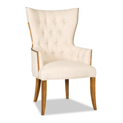 Hooker Furniture - Hooker Furniture Brookhaven Dining Arm Chair 300-350050 - The Brookhaven Collection is crafted from hardwood solids with cherry veneers.