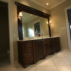 Traditional Bathroom by Greenway Renovations and Custom Homes