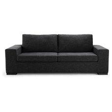 Modern Sofas Kensington Dark Grey 3-Seat Couch