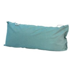 Algoma Net Company, Div. of Gleason Co - Deluxe Hammock Pillow - Norway Powder Blue - Add color and comfort to your hammock with a super soft hammock pillow. The removable cover is made of washable weather treated fabric, and is complete with tie-offs, for stay put results.