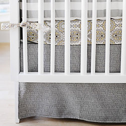 New Arrivals Crib Bedding, City Baby - I love stylish crib bedding that mixes and matches. I also usually recommend picking up a few sets of plain sheets for quick changes when one set goes in the laundry in the middle of the night.