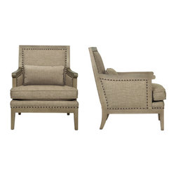 Kirkwood Chair - The finish of the wood on this chair gives this traditional style a more modern look.