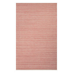 Jaipur Rugs - Flat-Weave Moroccan Pattern Wool/ Art Silk Red/Taupe Area Rug ( 2x3 ) - This Prism collection will add a nice splash of color to any room.
