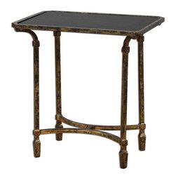Uttermost - Uttermost Zion Metal End Table - 24363 - Uttermost Zion Metal End Table - 24363