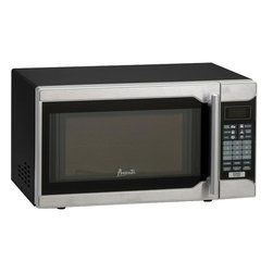 Avanti - 0.7 CF Touch Microwave - Black Cabinet with Stainless Steel Front - 0.7 CF Capacity, 700 Watts of Cooking Power, Electronic Control Panel, One Touch Cooking Programs, Speed Defrost, Cook / Defrost by Weight, Minute Timer, Turntable with Glass Tray, Black Cabinet with Stainless Steel Front and Handle.