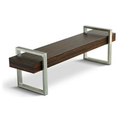 modern benches by Bobby Berk Home