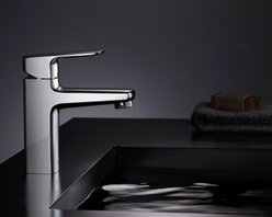 JollyHome - JollyHome Bright and Simple Bathroom Sink Faucet,Polished Chrome - Contemporary and minimalism.Chrome finish.Single Handle.All brass faucet